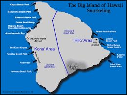 map kona usa map of snorkeling beaches on the big island hawaii usa from