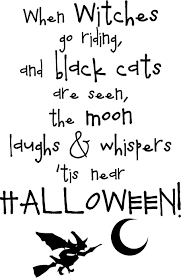 prepared not scared halloween poem for visiting and home large