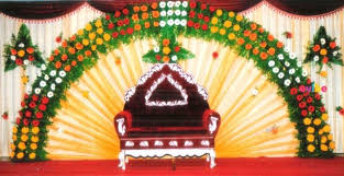 decoration pictures colourful floral stage decoration for wedding reception
