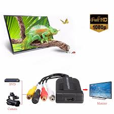 rca dvd home theater system with hdmi 1080p output 1080p hd av and s video to hdmi audio adapter converter with usb