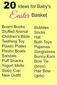 baby s easter basket 20 ideas for baby s easter basket easter basket baby
