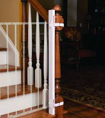 Baby Gate For Top Of Stairs With Banister Comparing The Best Baby Gates For Stairs Top And Bottom Baby