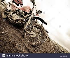 motocross dirt bike twin shock vintage motocross rider mx sidecar dirt muddy with