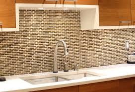 mosaic home decor travertine subway tile kitchen backsplash with a mosaic glass