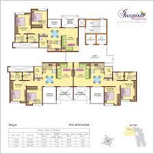 the inspira floor plan floor plan anand realties the inspira at kondhwa pune