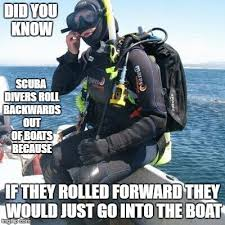 Scuba Meme - something to think about imgflip