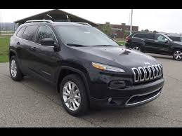 jeep cherokee black 2015 new 2015 jeep cherokee limited 4x4 black martinsville indiana