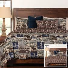Camouflage Sheet Set Ducks Unlimited King Bedding Home Beds Decoration