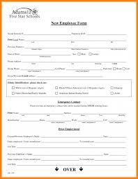 new employee hiringcklist hire form process sample and termination