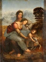 the virgin and child with st anne leonardo wikipedia
