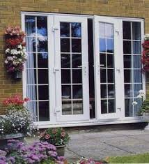 Wood Patio Doors With Built In Blinds by Love Andersen 400 Series Frenchwood Outswing Patio Door With
