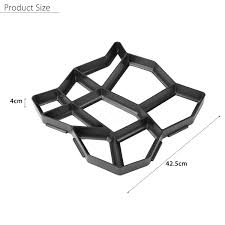 Stepping Stone Molds Uk by Diy Driveway Paving Pavement Stone Mold Concrete Stepping Pathmate