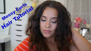 hairstyles for day old curls messy curls hairtutorial on 3 day old greasy hair dry shoo
