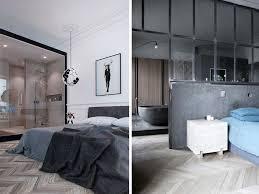 salle de bain ouverte sur chambre une salle de bains dans la chambre joli place