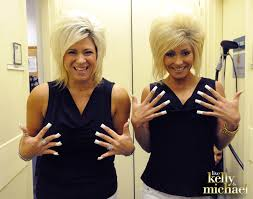 theresa caputo hair cut can you tell who is who kelly dressed up as long island medium