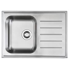 Inset Sinks Kitchen by Boholmen 1 Bowl Inset Sink With Drainer Ikea 85 99 Ideas For