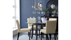 halo ebony round dining table with 42