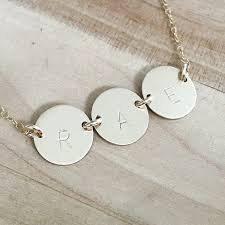 Disc Necklace 3 Disc Necklace By Pheebs U0026 Beau
