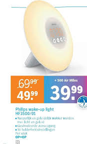 wake up light philips wekkerl folder aanbieding bij albert heijn details