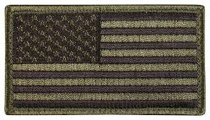 Army Uniform Flag Patch Amazon Com Rothco American Flag Patch With Hook Back Sports