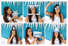 baby shower photo booth ideas antarctic penguin photo booth props the party event