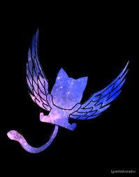 galaxy fairy tail logo design