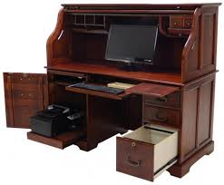 South Shore Computer Desk South Shore Axess Writing Desk With Keyboard Tray And Printer