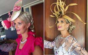 fascinators for hair races hairstyles with fascinators hair ideas for race day