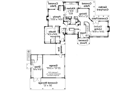 Cottage Plans With Garage Country House Plans With Detached Garage
