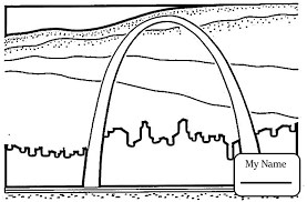 missouri map coloring pages coloring pages for missouri map worksheet countries cultures