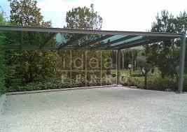 tettoie per auto tettoia per auto con vetro stopsol idealferro