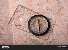 Map With Compass 100 Map Compass Antique World Map Compass Stock Images