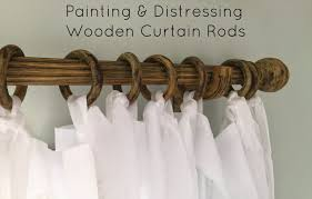Home Depot Wood Curtain Rods Curtain Diy Curtain Rod Finials Distressed White Curtain Rod