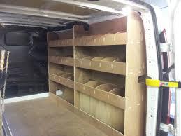 Shelves For Vans by Ford Transit Custom Swb Double Offside Shelving