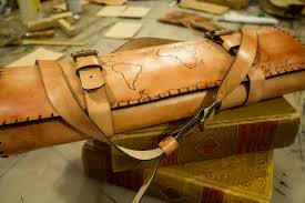 Leather Map World Map U2013 Linny Kenney Leather