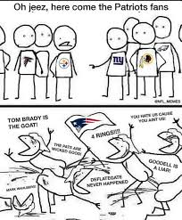 Patriots Fans Memes - why do you hate the patriots sportshoopla sports forums