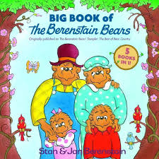 berenstein bears books big book of the berenstain bears five books in one by stan