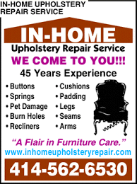 Home Upholstery In Home Upholstery Repair Service Wi Yellowbook