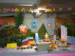 home decoration of ganesh festival ganesh chaturthi