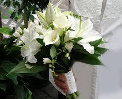 fleurs blanches mariage bouquet de mariée mariage hiver bouquet mariée et