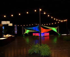 party rental orlando clear bulb string lighting orlando corporate event decor design