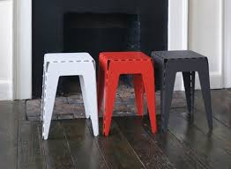 aluminum stool 1 u2014 furnishings better living through design
