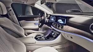 mercedes interior interior 2017 mercedes e class l sport