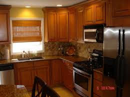Honey Oak Kitchen Cabinets Unique Tile Backsplash Kitchen Oak Cabinets Kitchenfinal With