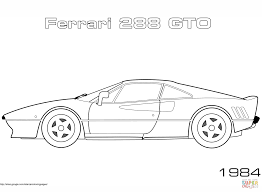 ferrari enzo sketch ferrari enzo car coloring page free printable coloring pages