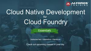 training microservices architecture cloud foundry live altoros