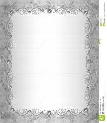 wedding invitation border satin and pearls royalty free stock
