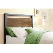 better homes and gardens mercer full queen headboard vintage oak