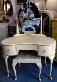 Vintage Style Vanity Table Chouchou Vintage 1950s Style Dressing Table Set Painted In