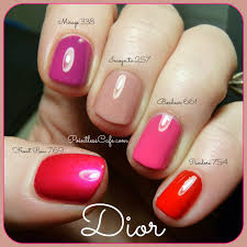 dior couture color gelshine u0026 long wearing nail lacquer spring